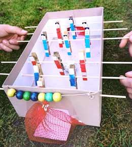 DIY : Le baby-foot récup
