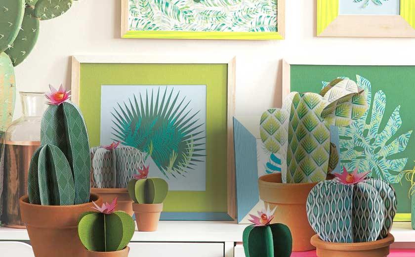 DIY cactus en papier