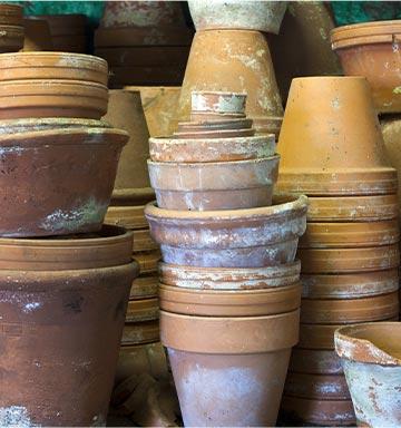 Seconde vie pour vos vieux pots