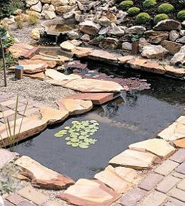 Installation bassin préformé