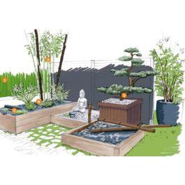 D C3 83 Ef Bf Bdcoration Jardin Zen Le Mini Jardin Japonais S R