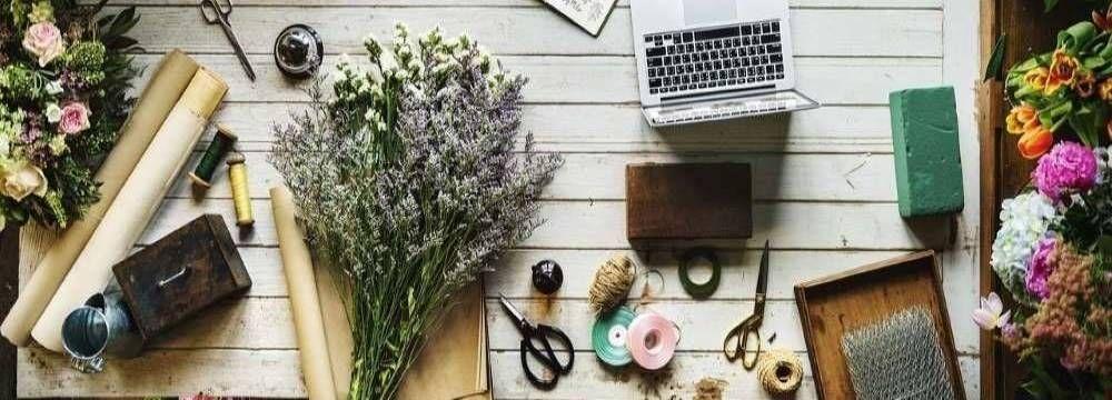 composition florale champetre