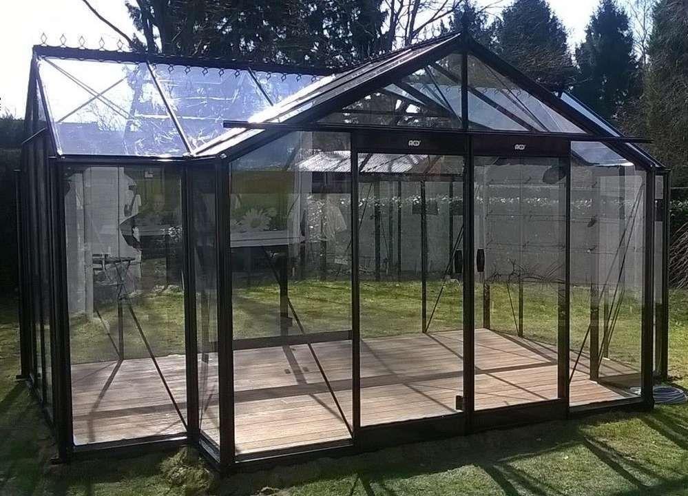 fabriquer un serre de jardin