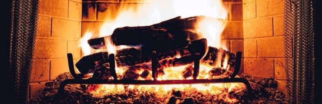 insert cheminée feu de bois