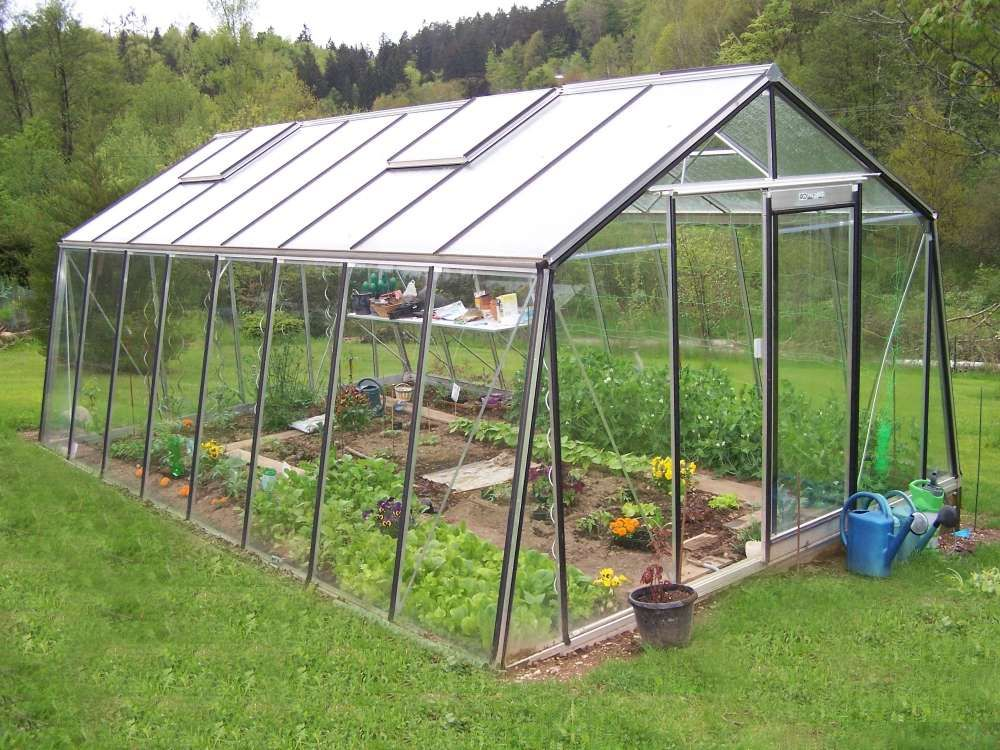 installer une serre de jardin