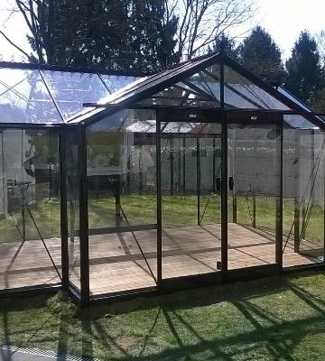 fabrication d'une serre de jardin