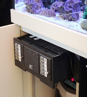 système de filtration pour aquarium