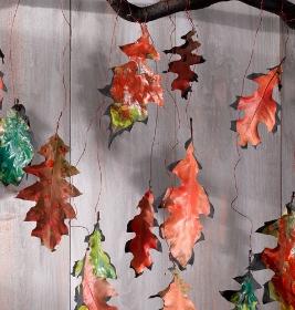 Guirlande feuilles automnes