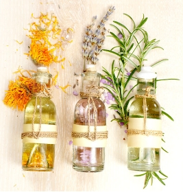 Masques et huiles essentielles