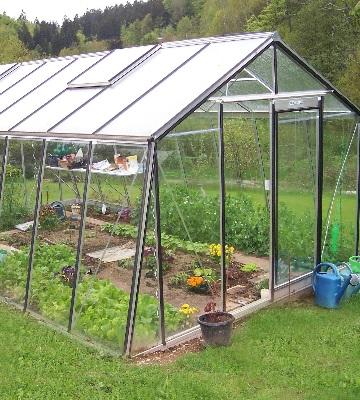 serre de jardin installation