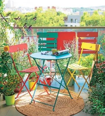 tables chaises pour balcon