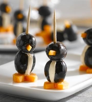 olive pingouin pique-nique