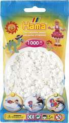 Sachet 1000 perles Midi: blanc