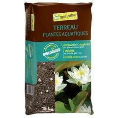 Terreau pour plantes aquatiques - sac de 15 litres