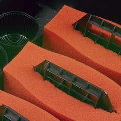 Mousses de filtration rouges pour BioTec pour bassin