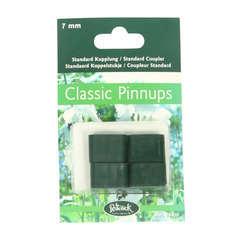 Coupleur standard 7mm pour tuteur Pinnups (4 pièces)