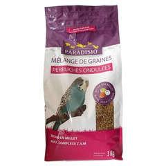 Mélange de graines pour perruches ondulées - 3 kg