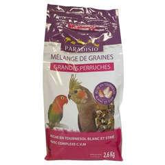 Mélange de graines pour grandes perruches - 2,6 kg