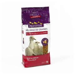 Mélange de graines pour tourterelles et colombes - 3 kg