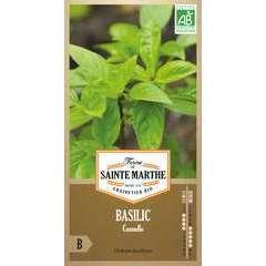 Graines de basilic cannelle Bio en sachet