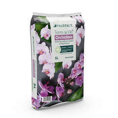 Terreau 'Terre de Vie®' pour orchidées - sac de 5 litres