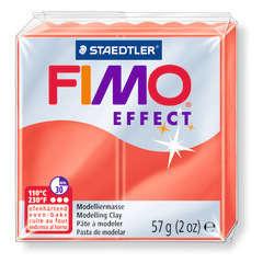 Pâte Fimo Effect, 57g - Translucide, rouge