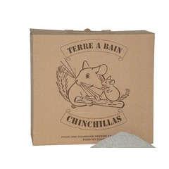 Terre à bain chinchillas : 2,5 kg