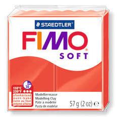 Pâte Fimo Soft, 57 g - Rouge indien