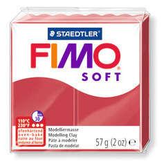 Pâte Fimo Soft, 57 g - Rouge