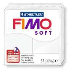 Pâte Fimo Soft, 57 g - Blanc