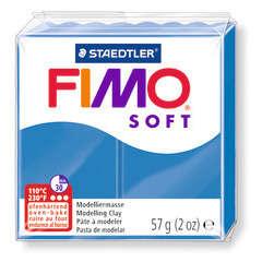Pâte Fimo Soft, 57 g - Bleu pacifique