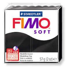 Pâte Fimo Soft, 57 g - Noir