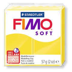 Pâte Fimo Soft, 57 g - Coloris citron