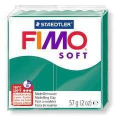 Pâte Fimo Soft, 57 g - Vert émeraude