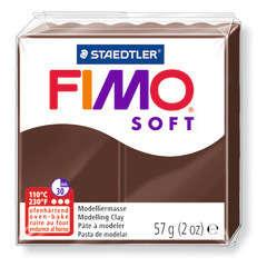 Pâte Fimo Soft, 57 g - Coloris chocolat