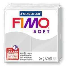 Pâte Fimo Soft, 57 g - Gris