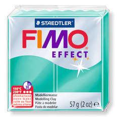 Pâte Fimo Effect, 57g - Translucide, vert