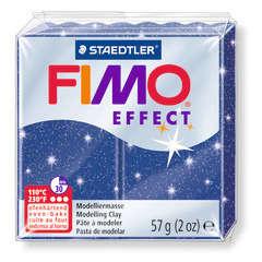 Pâte Fimo Effect, 57g - Pailleté, bleu