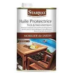 Huile protectrice teck et bois exotiques 500ML