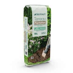Terreau pour plantation en pleine terre - sac de 70 litres
