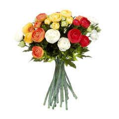 Bouquet de renoncules, orange 30 cm