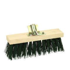 Balai cantonnier fibre pvc, et monture bois l31cm   l 7cm sans manche