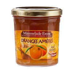 Marmelade au miel, le pot de 375g - Orange amère