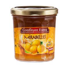 Confiture au miel, le pot de 375g - Mirabelles