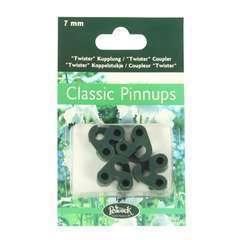 Coupleur additionnel 7mm pour tuteur Pinnups en métal (4 pièces)