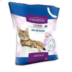Litière minérale pour chat Silicate - 8 litres