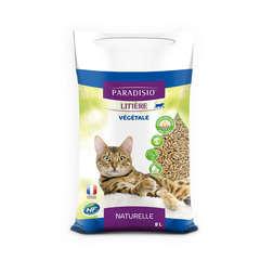 Litière végétale pour chat - 8 litres
