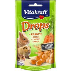 Drops à la carotte Tout Rongeur 75 g