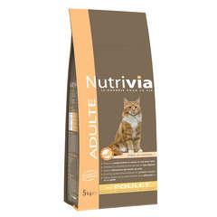Croquettes chat Nutrivia à la viande : 5 kg
