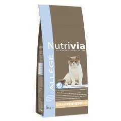 Croquettes chat Nutrivia allégé : 5 kg